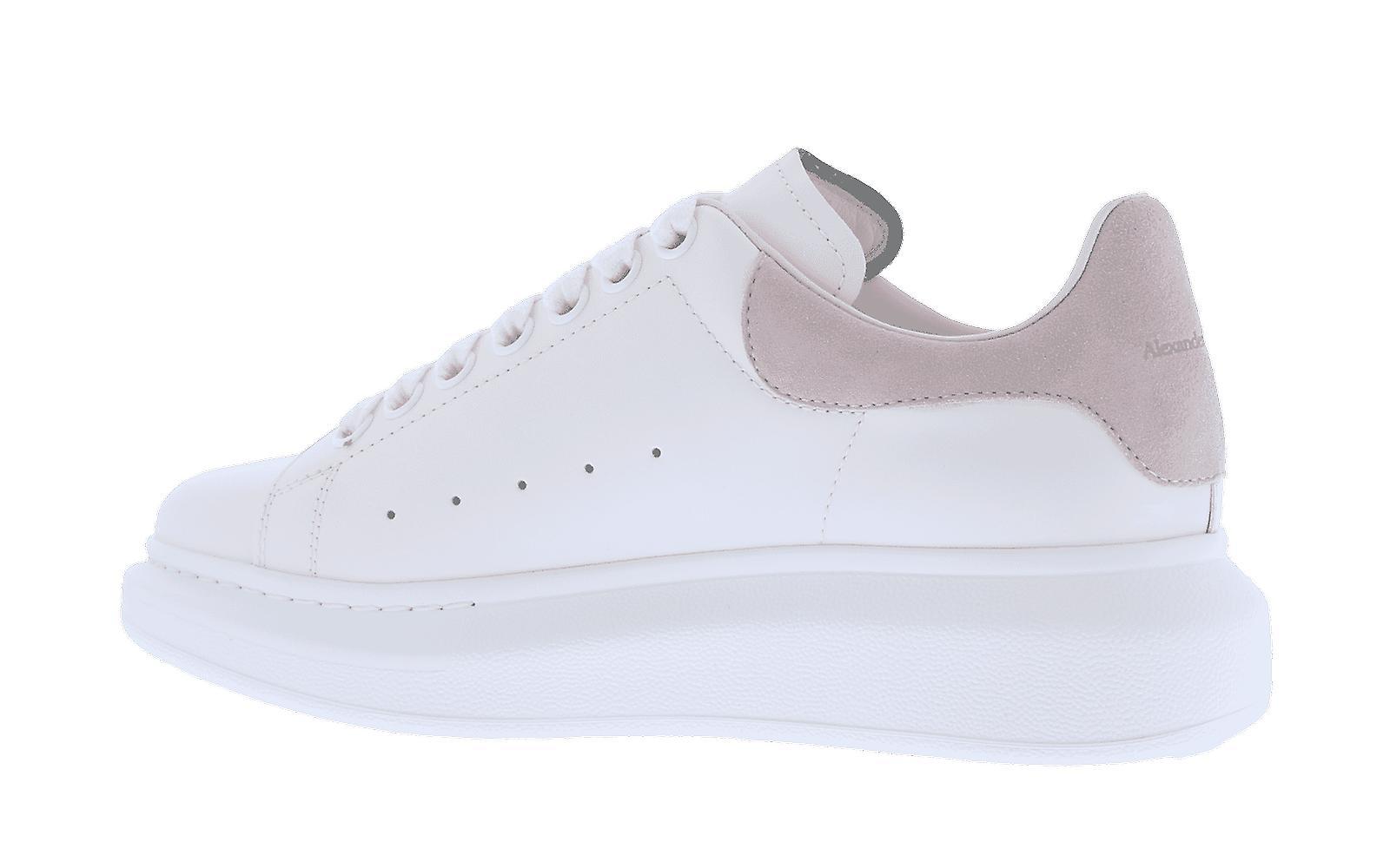 Alexander McQueen Sneaker Pelle S.Gomm Larr Hvit 553770WHGP79182 sko
