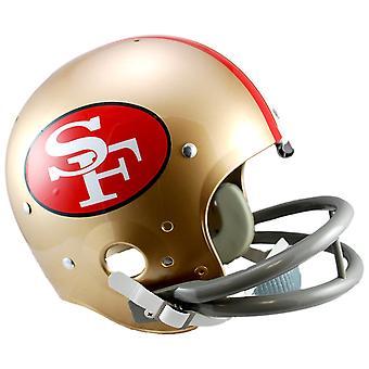 Riddell TK Replica Football Helmet San Francisco 49ers 1964-88