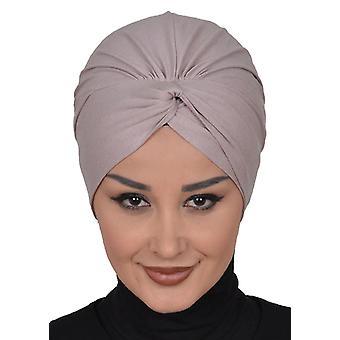 Turban en coton avec détails - Astrid