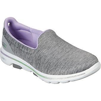 Skechers Womens GOwalk 5 Surprise Slip On Casual Shoes