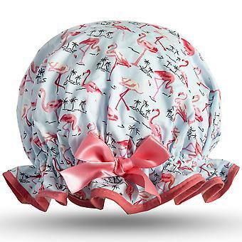 Pretty Flamingo Shower Cap