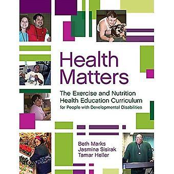 Gezondheidskwesties: Het leerplan voor het onderwijs op het gebied van lichaamsbeweging en voeding voor mensen met ontwikkelingsstoornissen