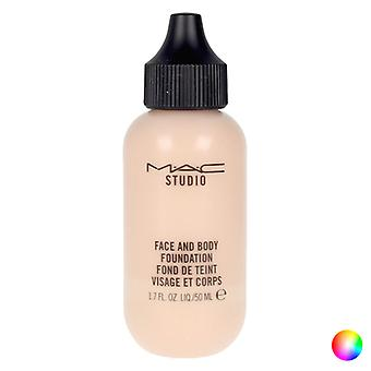 Liquid Make Up Base Studio Face And Body Mac (50 m/N3 50 ml