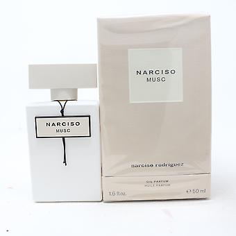 Narciso Musc av Narciso Rodriguez Olja Parfum 1.6oz/50ml Splash ny med box