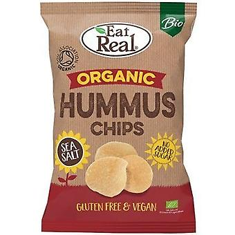 Eat Real Organicanic Sea Salt Hummus Chips 100g x10