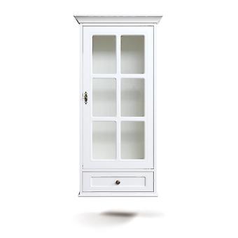 Kabinett Einzeltür mit Schublade