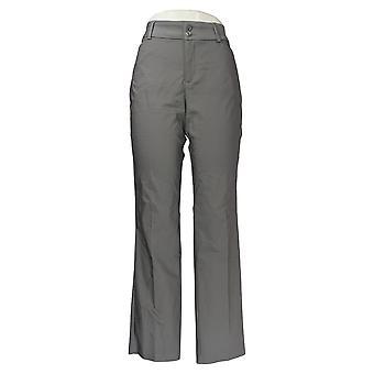 Lee Women's Pants Women's Lee Secretly Shapes Twill Straight-Leg Grey