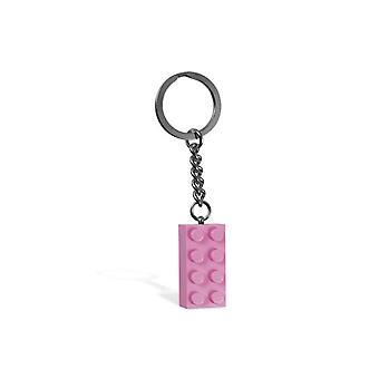 レゴ 852273 2x4 ストーン ピンクキーチェーン