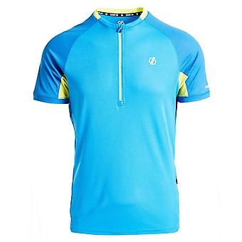 New Dare 2B Men's Aces Half-Zip Cycling Jersey Blue