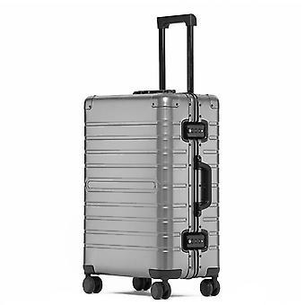 Aluminum Travel Suitcase