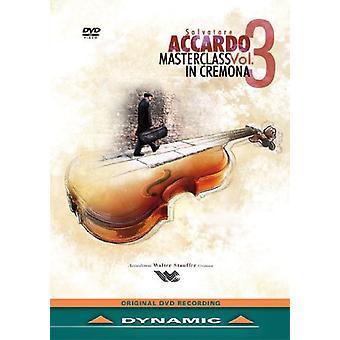 Salvatore Accardo Masterclass Vol. 4 [DVD] USA import