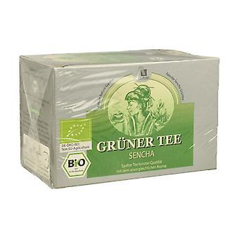 Sencha Green Tea Bio 15 infusion bags of 1.5g