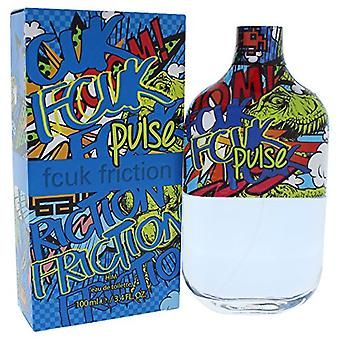 Fcuk Friction Pulse Eau De Toilette Spray for Him 100 ml