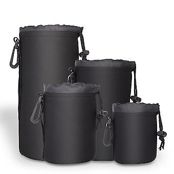 Active pro - high grade protective neoprene lens pouch for nikon / sony / canon eos lenses - 4 size