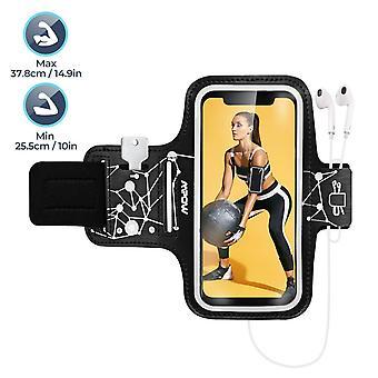 Mkow τρέχει περιβραχιόνιο για το iPhone 11 pro 11 xr xs x 8 7 6 6s Samsung Galaxy S20 s9 μέχρι 6.1'', runnin