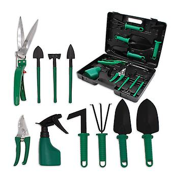 10pcs Garden Hand Tools Set,planting Kit,garden Work Tool
