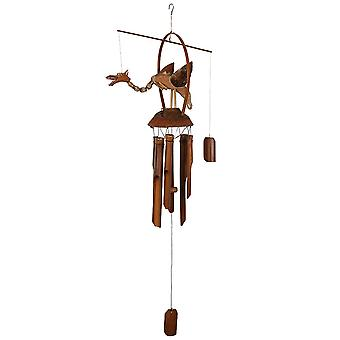 Something Different Dragon Bamboo Windchime