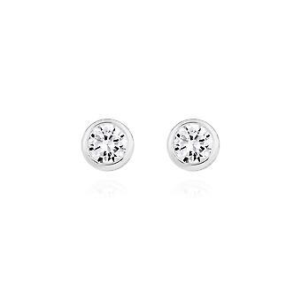 Joma Jewellery Esme Silver Zirconia Brincos 4462
