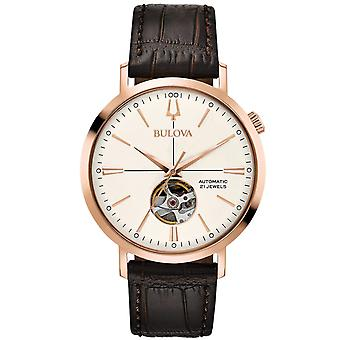 Mens Watch Bulova 97A136, Automático, 41mm, 3ATM