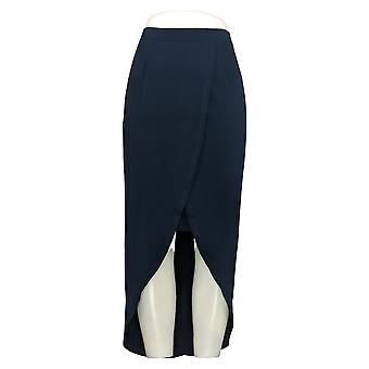 G.I.L.I. Skirt Wrap Front Attached Maxi Blue A290178