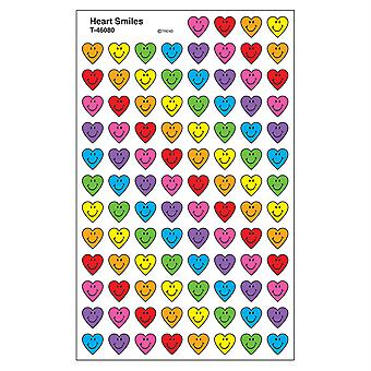 Heart Smiles Supershapes Stickers, 800 Ct