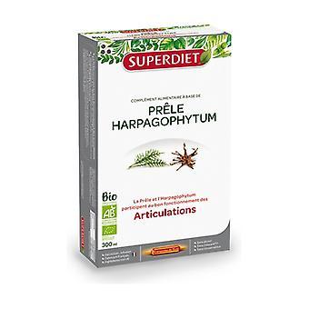 Horsetail - Harpagophytum 20 bulbs of 15ml