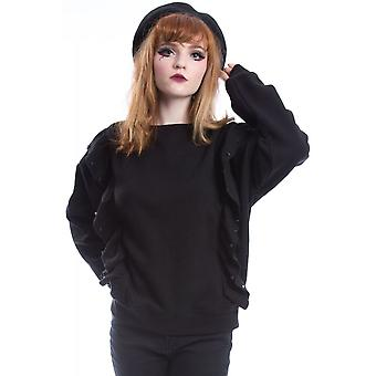 Vixxsin Maddox Womens Gothic Jumper