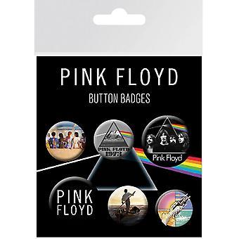 Botón de rosa Floyd insignias