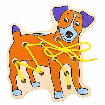 """Alatoys Wooden  Lacing """"Puppy"""""""