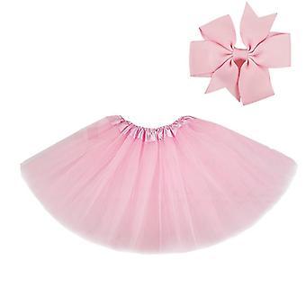 Tutu Skirt With Hear-clip