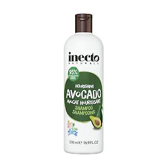 Nourishing avocado shampoo for damaged or damaged hair 500 ml