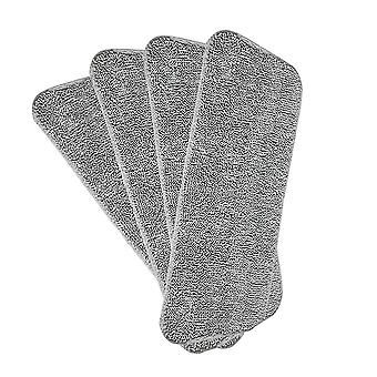 Mop replacement cleaning cloth, 4 sets, microfiber supplement cloth, washable cleaning cloth, deep cleaning replacement mop head