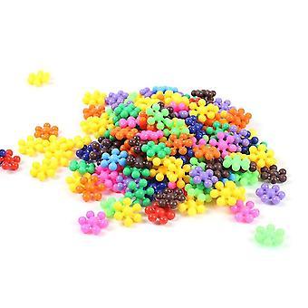 30pcs/lot Pflaume Blüte Bausteine pädagogische Diy Spielzeug