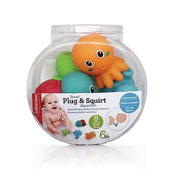 Infantino senso plug & squirt aquarium