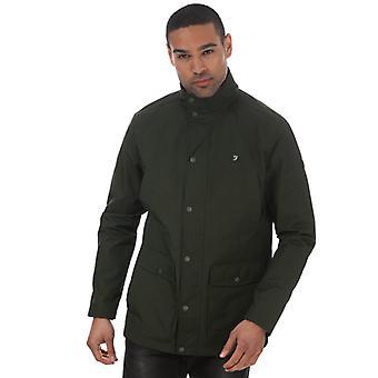 Men's Farah Shrewsbury 4 Pocket Jacket in Green