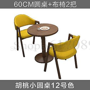 Simple Reception And Negotiation Combination Milk Tea Coffee Shop  Table And