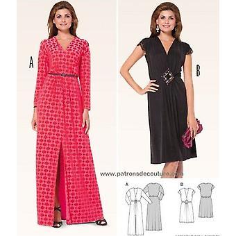 Burda sömnad mönster 6941 missar klänning storlek 10-22 E 36-8