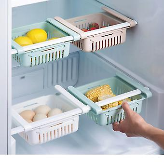 2pcs kitchen storage rack organizer kitchen organizer rack kitchen accessories organizer shelf storage rack fridge storage shelf box