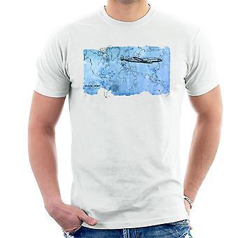 Pan Am World Map Men's T-Shirt
