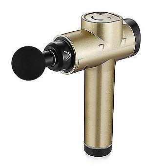 1800Mah 12v pistola da massaggio lcd display corpo che esercita massaggiatore elettrico muscolare 4 teste buttom fascia pistola per vibratore posteriore collo