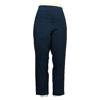 Women with Control Women's Petite Jeans Prime Reversible Ankle Blue A366041