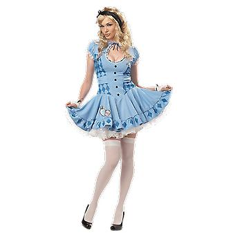 Womens Sweet Alice im Wunderland Film Kostüm