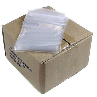 Polybags Budget Grip Seal GL6 Plastic Bags (Pack of 1000)