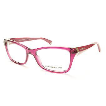 Emporio Armani EA3023 5199 Eyeglasses Frame Acetate Violet