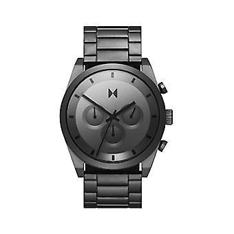 MVMT Analoog Horloge Herenkwarts met Roestvrijstalen Band 28000048-D
