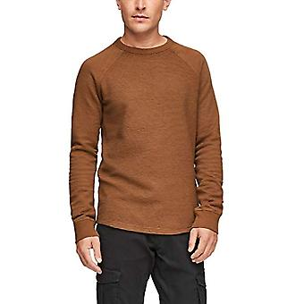 Q/S designed by - s.Oliver 520.10.012.12.130.2061910 T-Shirt, Brown, S Man