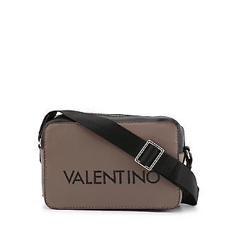 Valentino af Mario Valentino - Tasker - Skuldertasker - GRANDE-VBS4I205-TAUPE-NERO - Kvinder - tan, sort