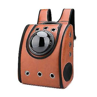Trendy space capsule pet bag cat outing backset pet supplieu type pet breathable bag pl-472