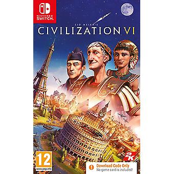 Sid Meier's Civilization VI Nintendo Switch Game [Code in a Box]