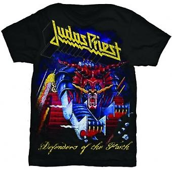 Judas Priest Defender of Faith Mens T Shirt: Large